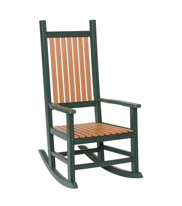 Handcrafted Bent Poly Classic Rocker, Sonrise Poly, Denver PA