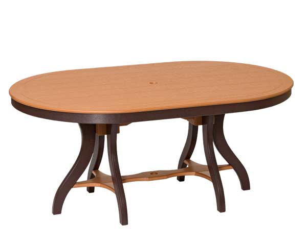 Handcrafted Bent Poly Dining Table, Sonrise Poly, Denver PA