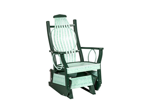 mint green poly rocker, Sonrise Poly, Denver PA
