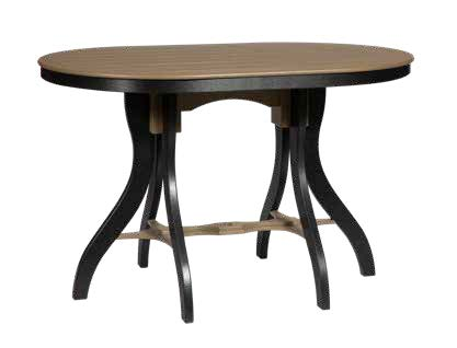 oval bar height table, Sonrise Poly, Denver PA