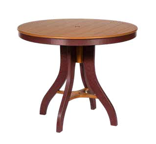 round counter height table, Sonrise Poly, Denver PA